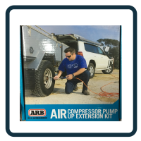 Air Compressor Pump up Extension Kit